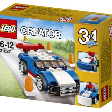 31027 -  Blauwe racer