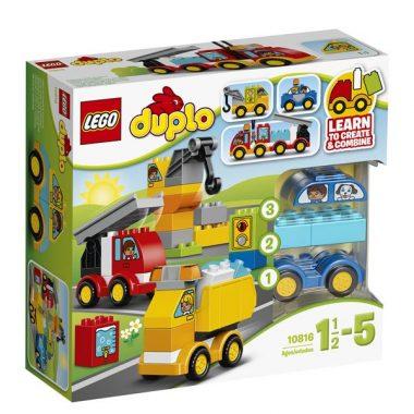 10816 - Mijn eerste wagens en trucks