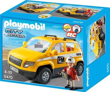 5470 - Werfleider met voertuig