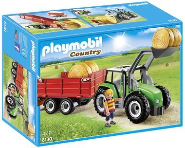 6130 - Tractor met aanhanger