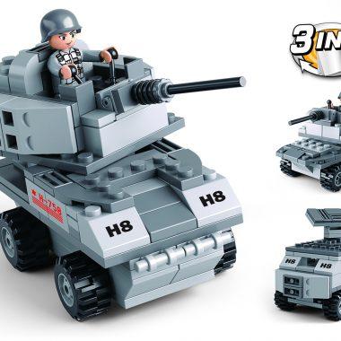 B0537B - Pantservoertuig 3-in-1